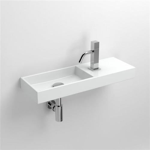 Lave mains 56 cm Mini Wash Me percement à droite