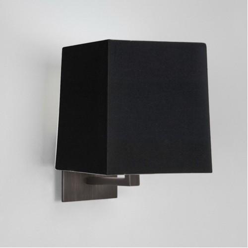 Applique Azumi Classic bronze avec abat-jour carré