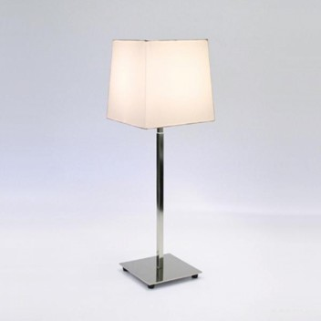 Lampe de table Azumi nickel poli