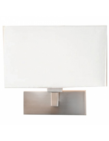 Applique mural park lane nickel mat abat jour blanc  astro lighting vue d\'ensemble