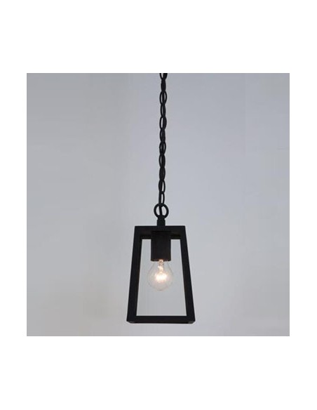 Suspension Calvi pendant 215 noire astro lighting vue d\'ensemble