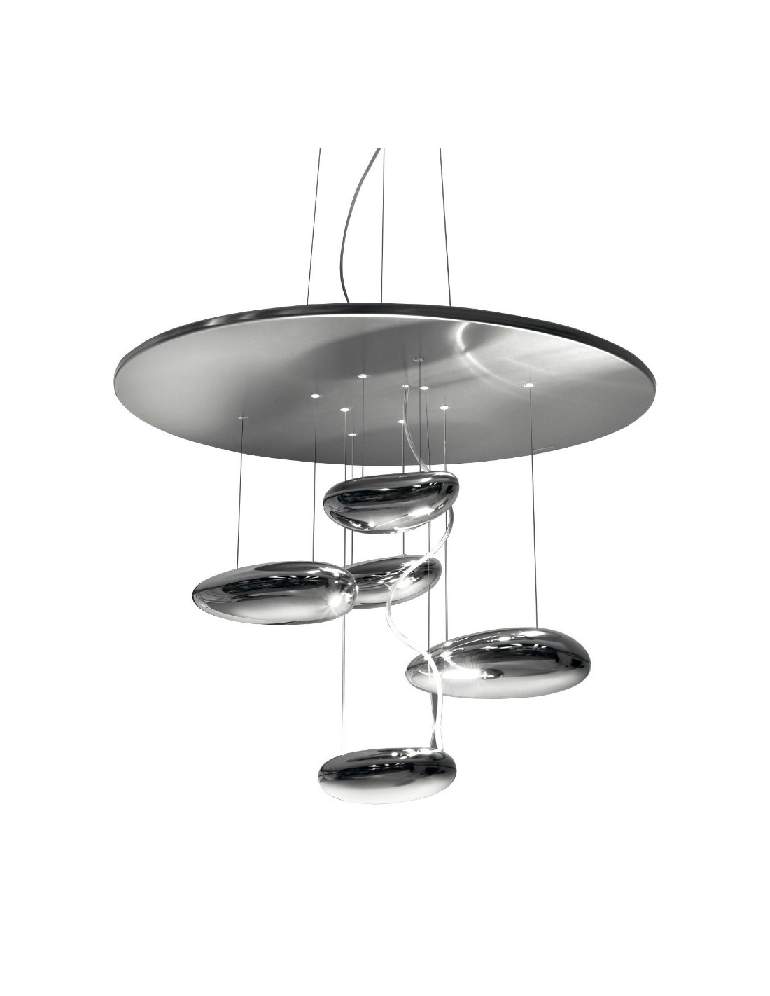 Suspension  Mini Mercury LED vue  d'ensemble Artemide