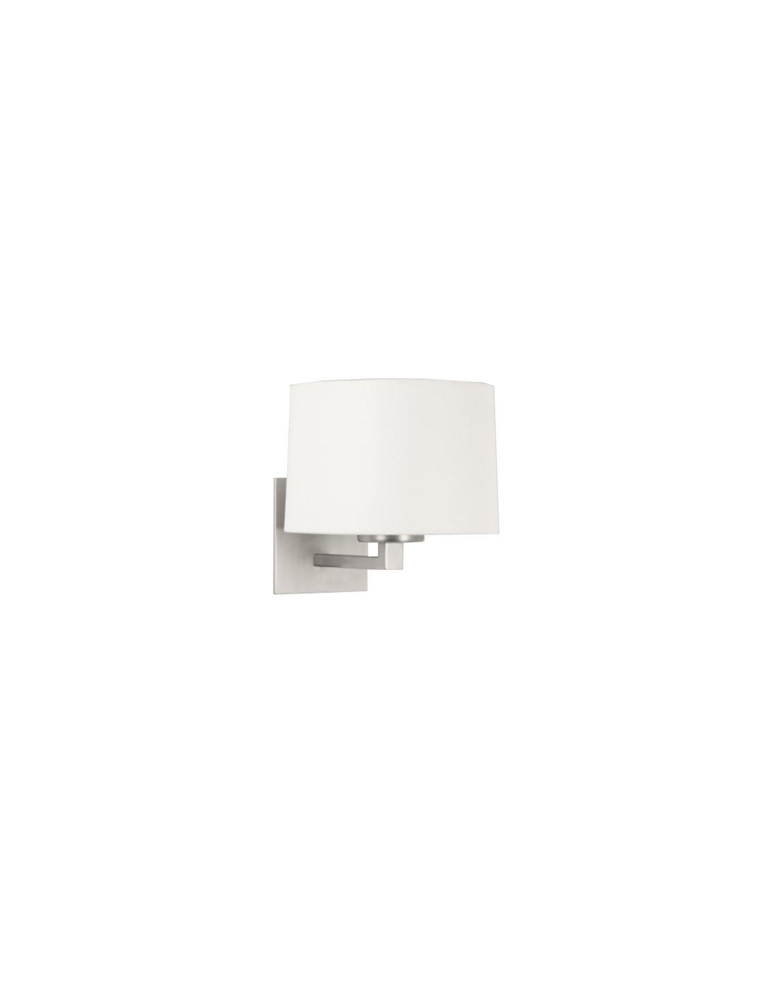 applique  azumi nickel mat abat-jour blanc Astro Lighting