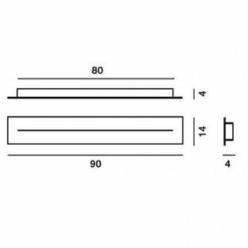 Cache piton multiple linéaire 90cm