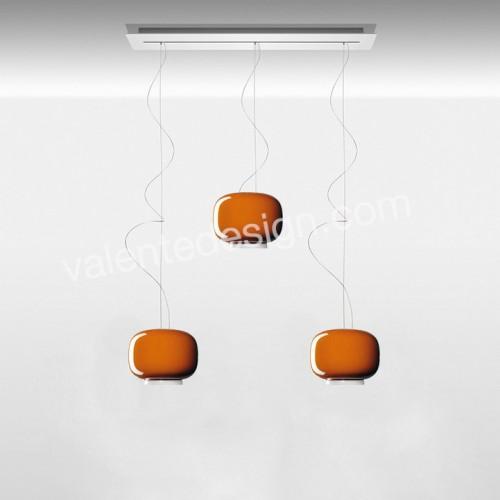 Suspension Chouchin Mini 1 triple sur linéaire de 90cm