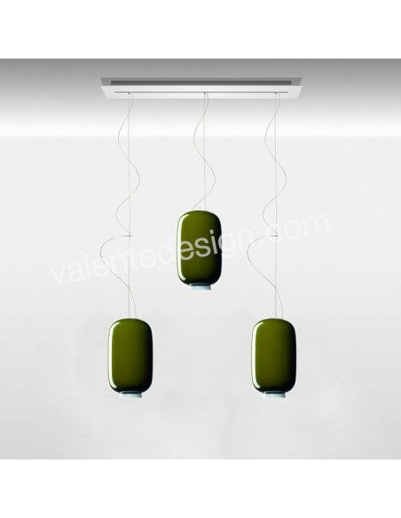 Suspension Chouchin Mini 2 foscarini vert