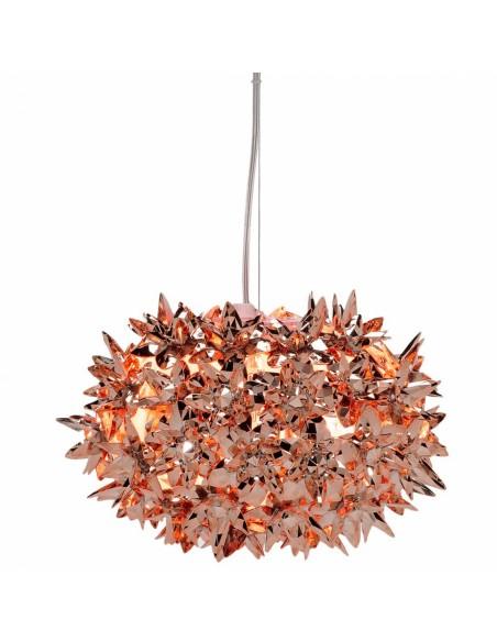 Suspension Bloom Ovale métallisée (ø 28 cm) cuivre Kartell