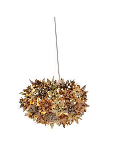 Suspension Bloom Ovale métallisée (ø 28 cm)  multicolore OR CUIVRE et BRONZE Kartell