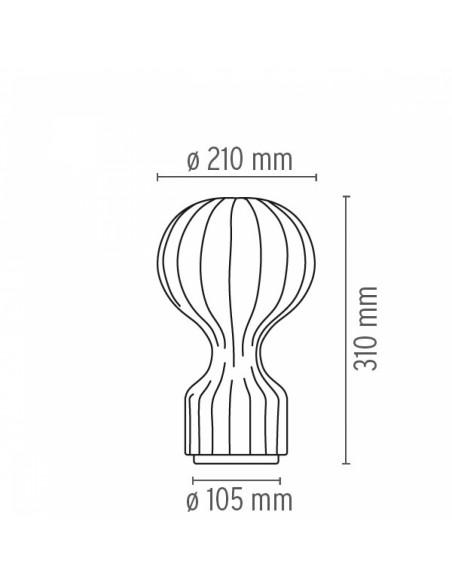 Lampe de bureau Gatto Piccolo plan