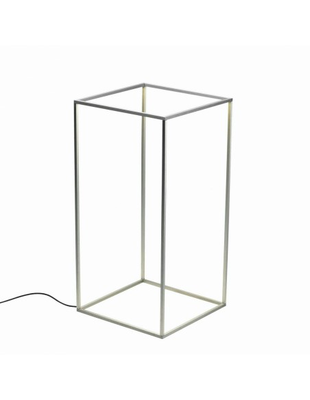 lampe de table  aluminium naturel de flos