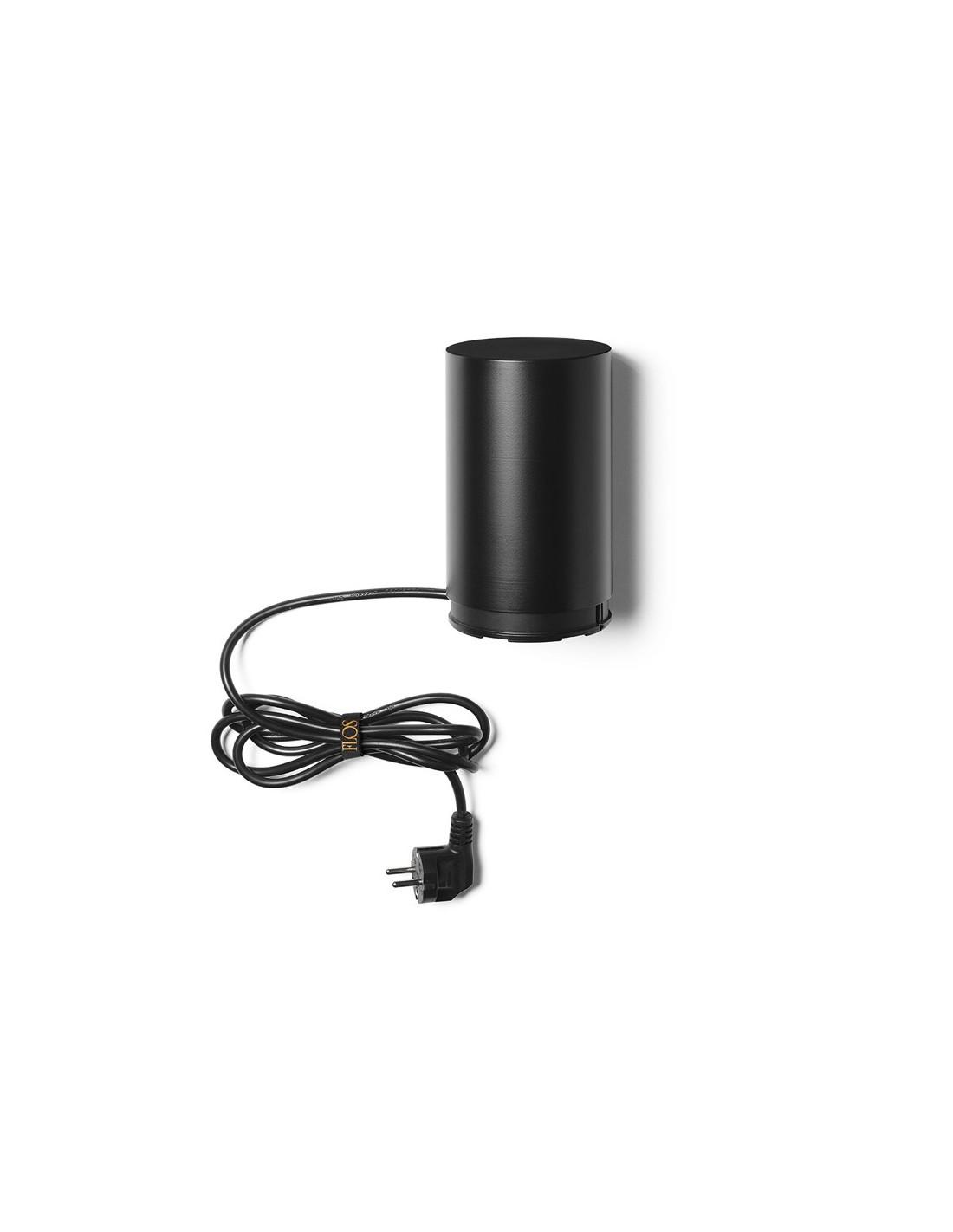 Base noire avec prise de courant pour suspension String Light