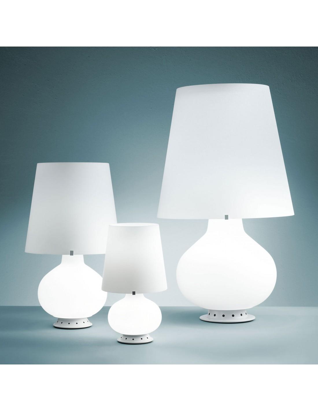 Lampe de table Fontana Médium blanc FontanaArte