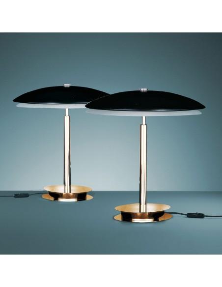 lampe de table bis mise en scène éclairage Fontana Arte