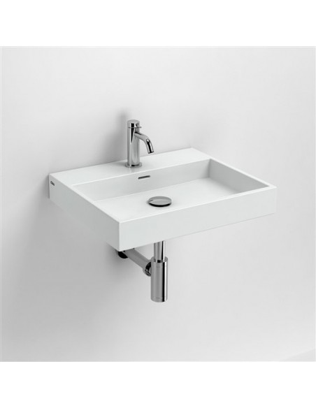 Vasque 50 cm Wash Me en céramique blanc pour la marque Clou