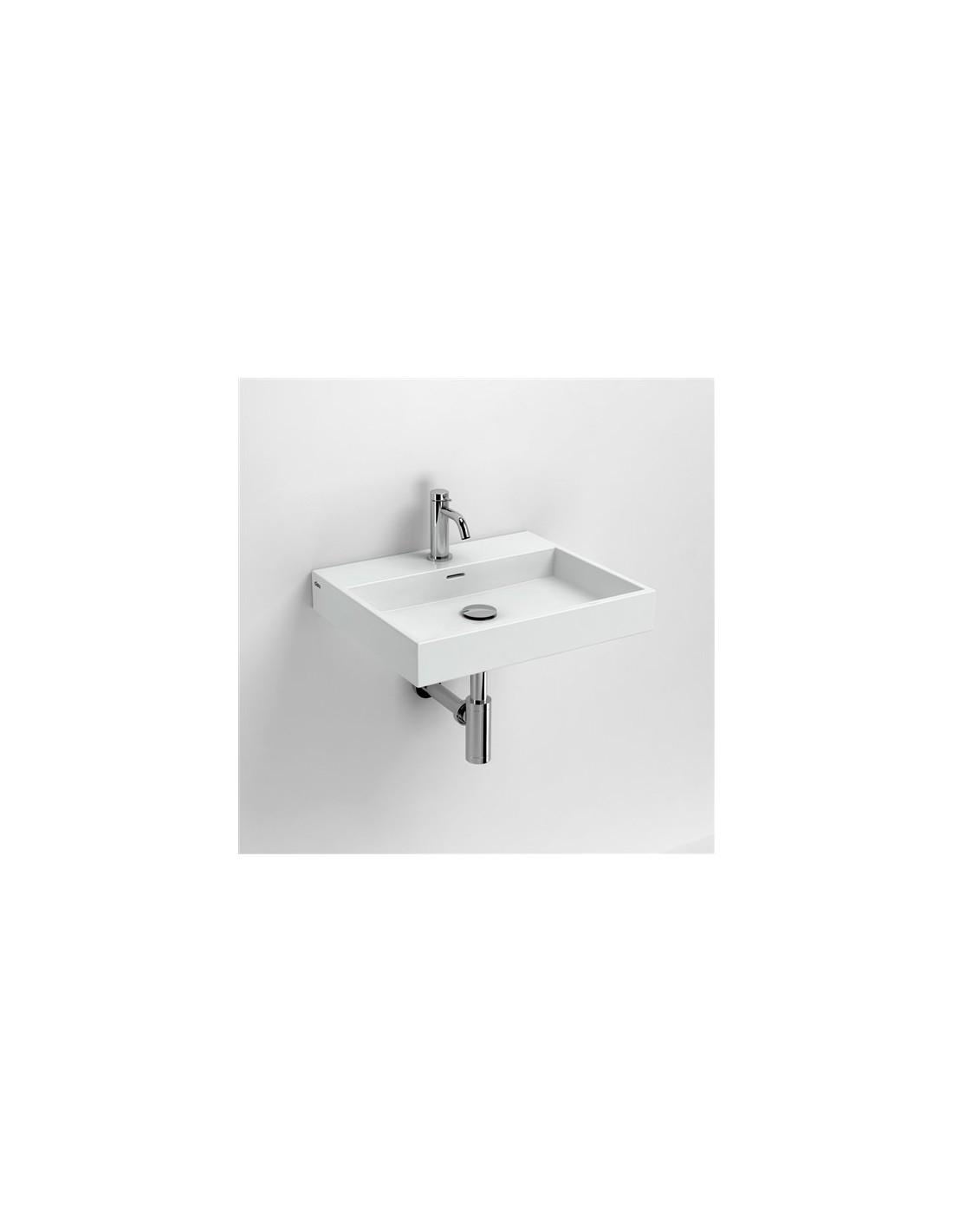 vasque 50 cm wash me en c ramique blanc pour la marque clou. Black Bedroom Furniture Sets. Home Design Ideas