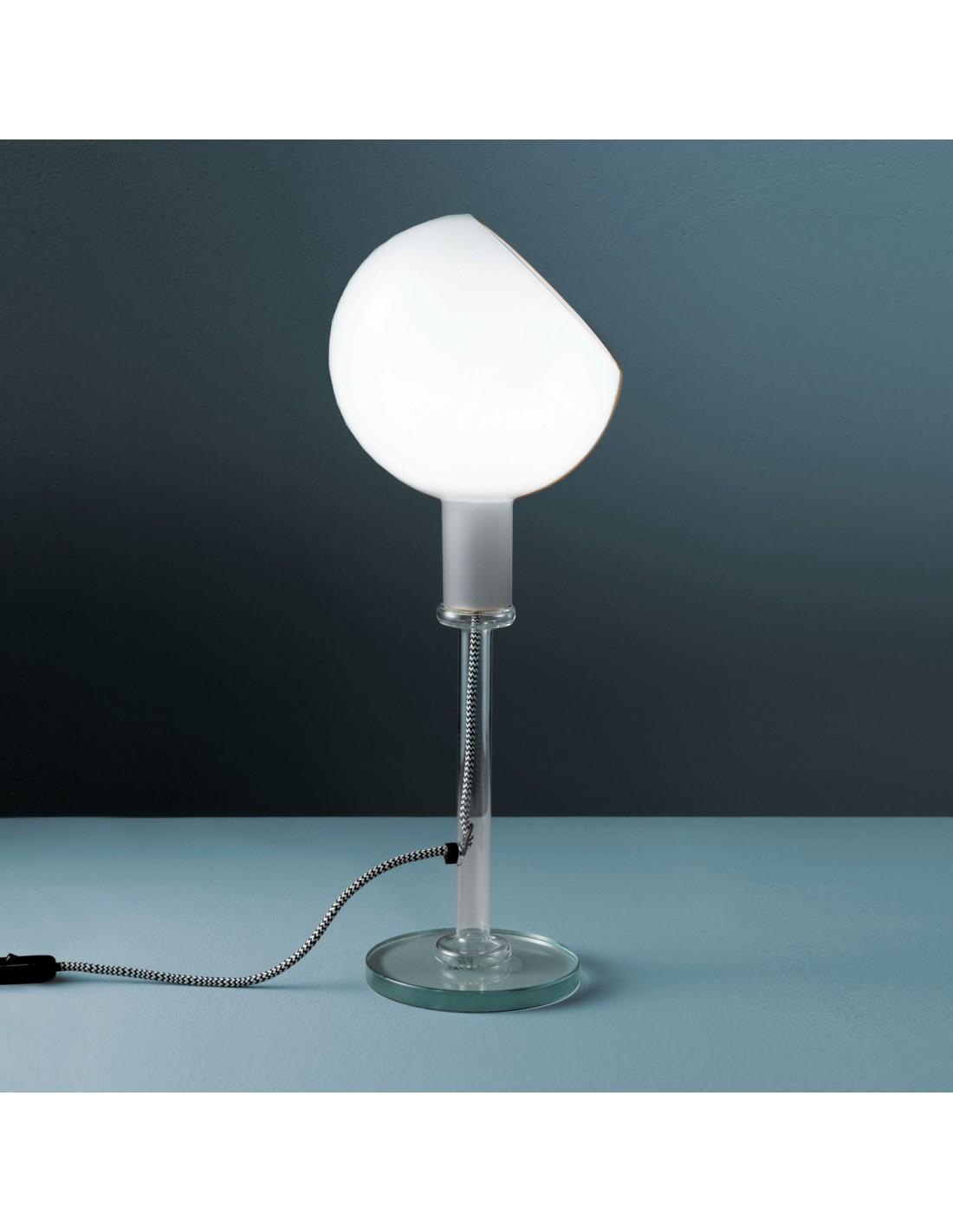 Lampe poser parola transparente for Lampe a poser transparente
