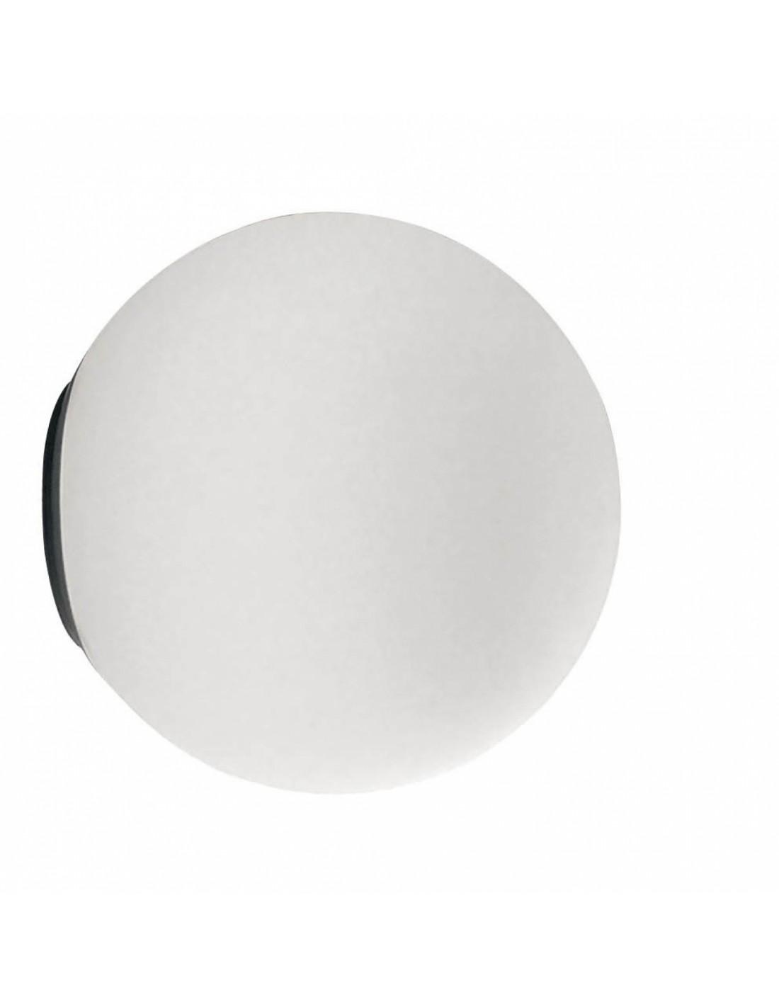 applique dioscuri 25  design en verre soufflé blanc artemide