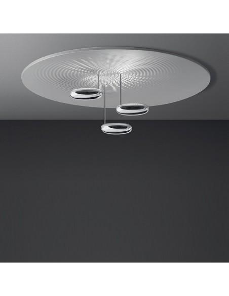 Plafonnier droplet LED vue de face Artemide
