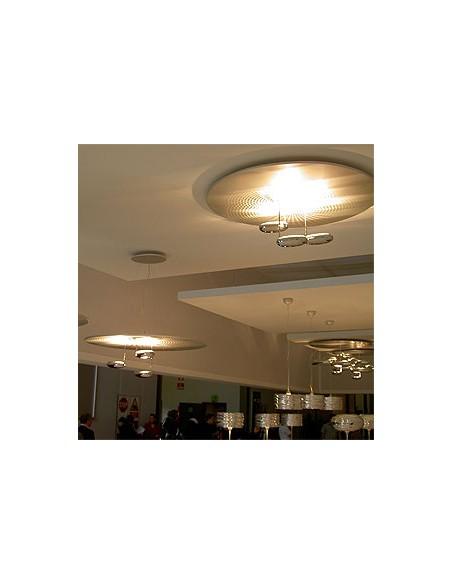 Plafonnier Droplet LED mise en scène Artemide