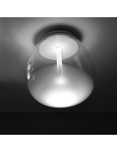 Applique / Plafonnier empatia 16 en verre soufflée  Artemide