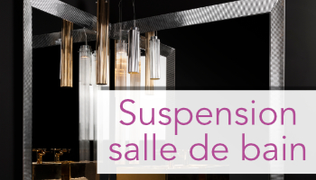 Suspension salle de bain