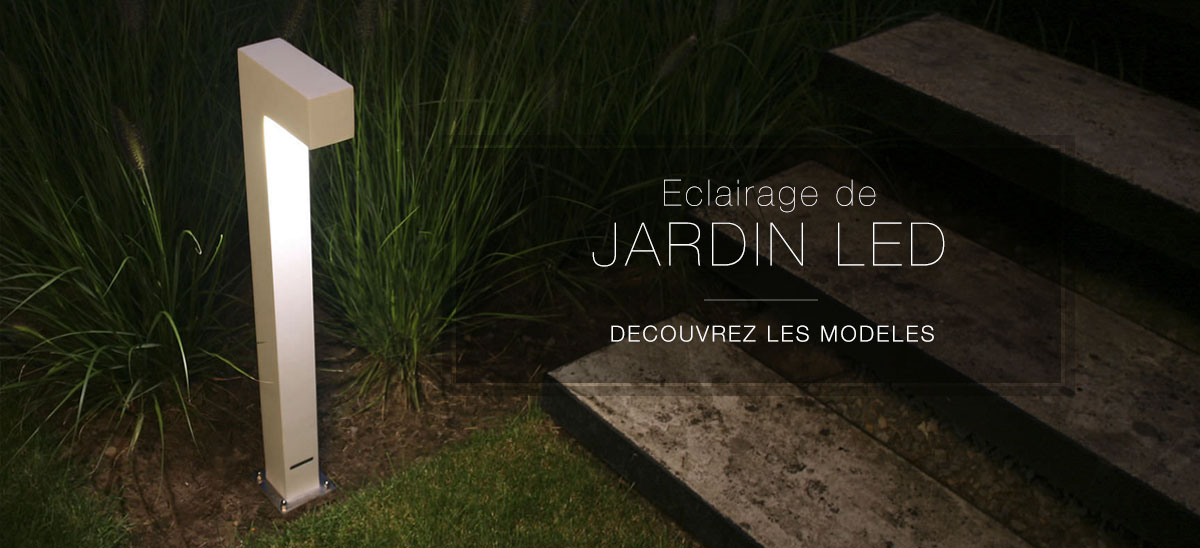 Eclairage jardin led for Lampe de jardin a led
