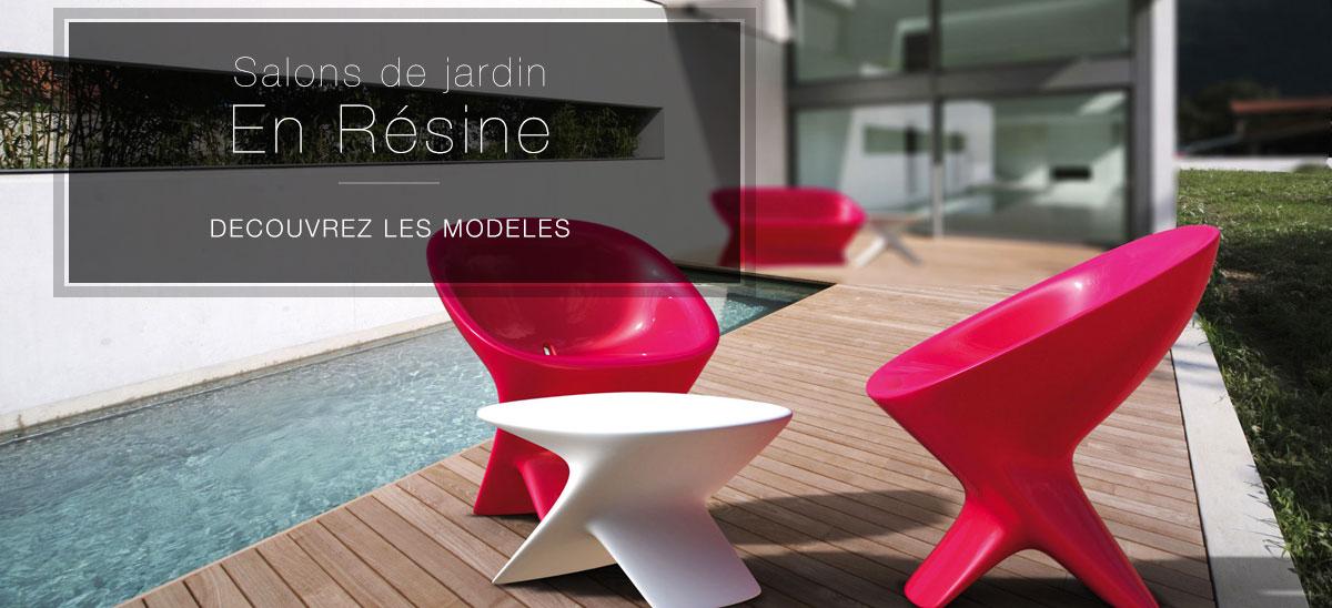 Salon de jardin en résine - Valente Design